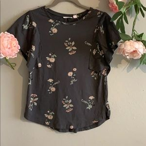 Melrose and Market XS floral top